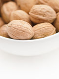 Walnuts in a cup Stock Image