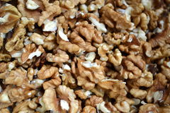 Walnuts. Dry fruit without core royalty free stock photography