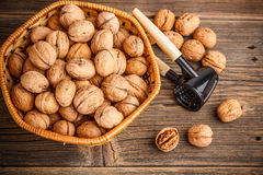Walnuts fruit Royalty Free Stock Photos