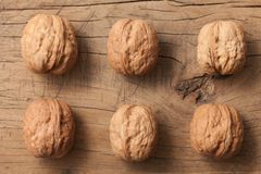 Walnuts Healthy Fruit Rustic Still Life stock image