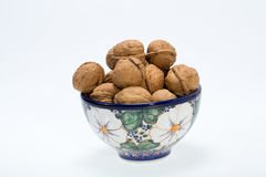 Walnuts heap Royalty Free Stock Image