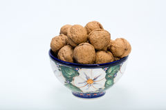 Walnuts heap Royalty Free Stock Photos