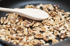Walnuts- horizontal Stock Image
