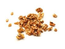 Walnuts isolated Stock Photography