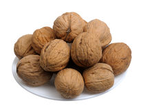 Walnuts, isolated Stock Images
