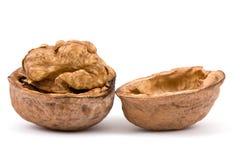 Walnuts  on  isolated Stock Photo