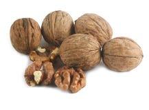 Walnuts isolated Stock Image