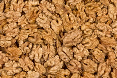 Walnuts Kernel Background Stock Images