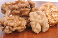 Walnuts--a kind of popular nuts in the world Stock Photo