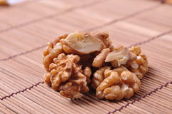 Walnuts--a kind of popular nuts in the world Royalty Free Stock Photos