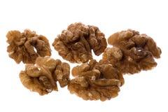 Walnuts Macro Isolated Stock Images