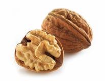 Walnuts macro Stock Photo