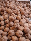 Walnuts market organic Royalty Free Stock Photography