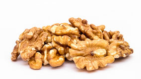 Walnuts Pile royalty free stock images