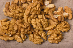 Walnuts Pile Stock Images