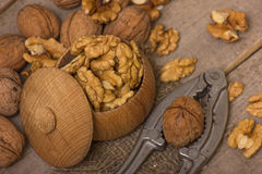 Walnuts Pile Stock Photos