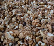Walnuts. Are the seed of the walnut tree, they are very healthy and full with protein and fatty acids Royalty Free Stock Photo