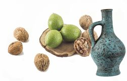 Walnuts. Stock Photography
