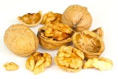 Walnuts, tree nuts Royalty Free Stock Photos