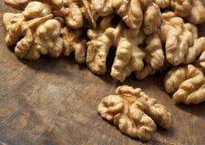 Walnuts.Vintage denominado Imagens de Stock