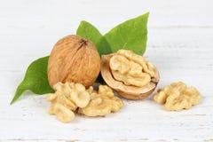 Free Walnuts Walnut Nuts Nut Nutshell On Wooden Board Royalty Free Stock Photos - 101720058