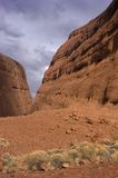 Walpa Gorge, Australia. Scene of Walpa Gorge in the Australian Outback royalty free stock photography