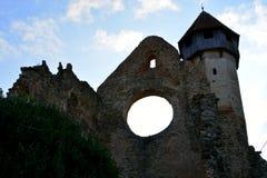 walpole Ruiny średniowieczny cistercian opactwo w Transylvania fotografia stock