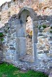 walpole Ruiny średniowieczny cistercian opactwo w Transylvania , Rumunia zdjęcia royalty free