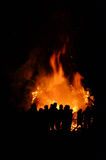 Walpurgis Night bonfire Royalty Free Stock Photos
