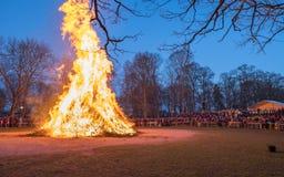 Free Walpurgis Night Bonfire Royalty Free Stock Photography - 91684017