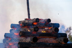 Free Walpurgis Night Fire Stock Images - 70817034