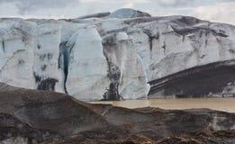 Wals del ghiacciaio in Islanda Immagine Stock