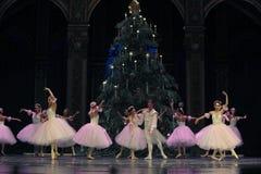 Wals van de sneeuwvlokken het het suikergoedkoninkrijk van het tweede handelings tweede gebied - de Balletnotekraker Stock Foto's
