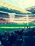 Walsall för Wembley stadion vs Bristol City Royaltyfria Foton