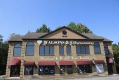 Walsons и штраф Jewerly Компании Стоковые Изображения