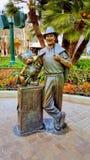 Walt Disney и мышь Mickey Стоковое фото RF