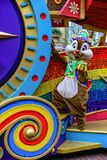 Walt Disney Charakterchip bei Disneyland Hong Kong stockfotografie