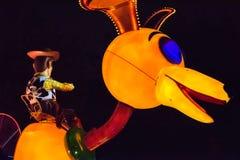 Walt Disney Companys Disneyland-Freizeitpark in Anaheim lizenzfreies stockbild