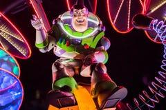 Walt Disney Companys Disneyland-Freizeitpark in Anaheim stockbild