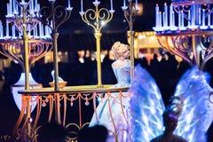 Walt Disney Companys Disneyland-Freizeitpark in Anaheim lizenzfreie stockfotografie