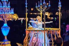 Walt Disney Companys Disneyland-Freizeitpark in Anaheim stockbilder