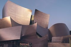 Walt Disney Concert Hall Fotos de Stock Royalty Free