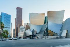 Walt Disney Concert Hall imagens de stock royalty free