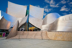 Walt Disney Concert Hall. In Downtown Los Angeles, California Royalty Free Stock Photo