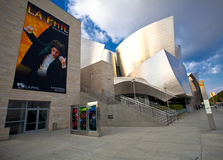 Walt Disney Concert Hall. In Downtown Los Angeles, California Royalty Free Stock Image