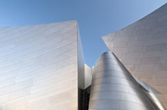 The walt disney concert hall Stock Photography