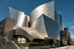 Walt Disney Concert Hall Stock Photos
