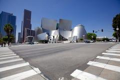 Walt Disney Concert Hall Royaltyfri Foto