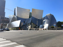 Walt Disney Concert Hall Royalty-vrije Stock Foto's