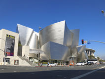 Walt Disney Concert Hall Stockbilder